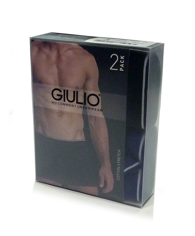 2 Pack Boxer Giulio con abertura G.N.