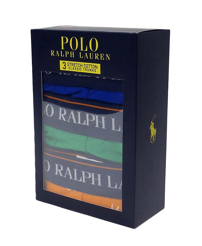 3 Pack Boxers Polo Ralph Lauren AzVNa