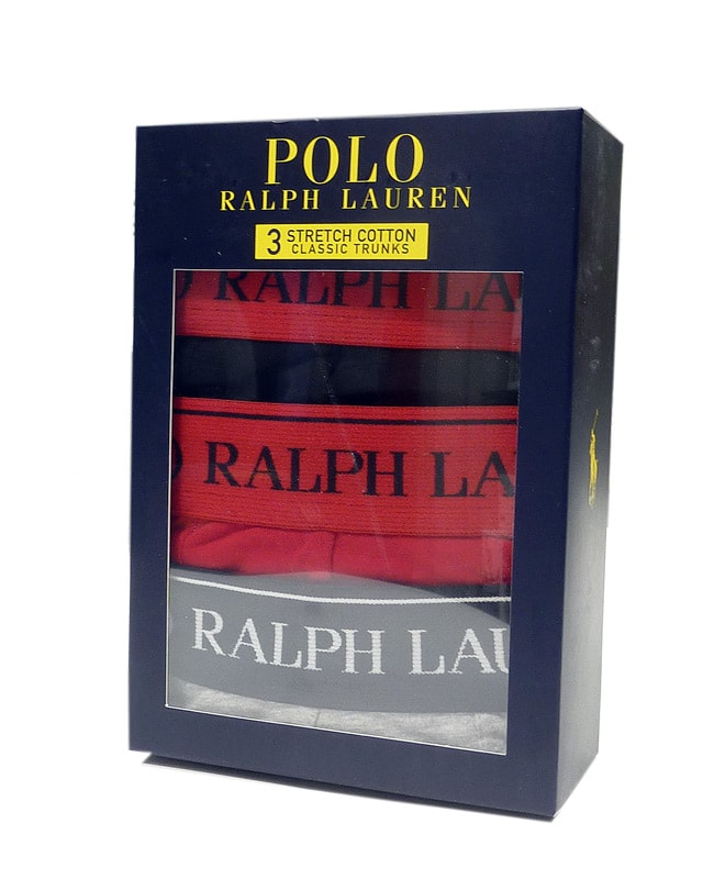 3 Pack Boxers Polo Ralph Lauren GRN