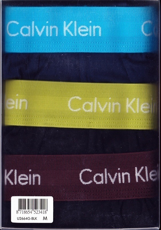 3 Pack Boxers Calvin Klein negros