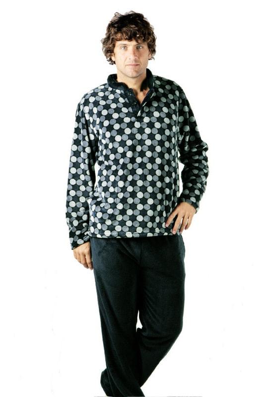 Pijama Pettrus Man Térmico Polar Tops
