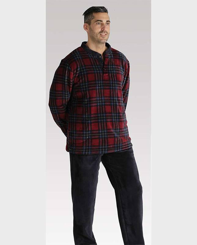 Pijama Pettrus Man Térmico Polar