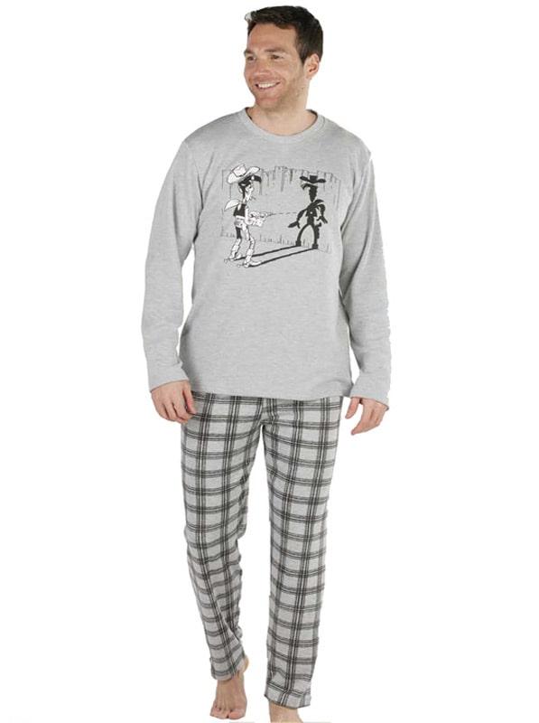 Pijama Pettrus Man Algodón Perchado Lucky