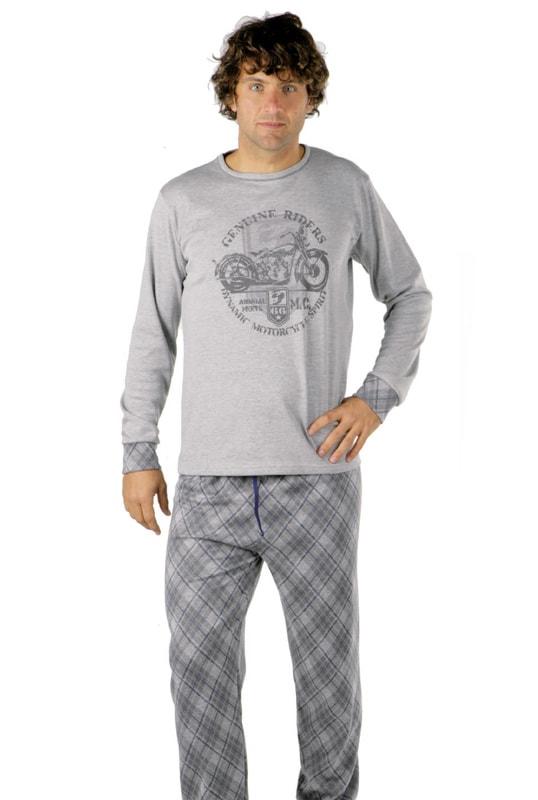 Pijama Pettrus Man Interlock Motocicleta