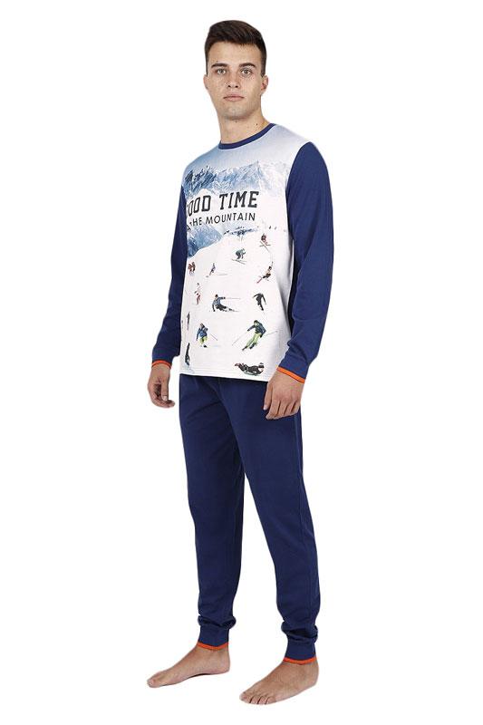 Pijama Admas juvenil mod. Esquí con puños