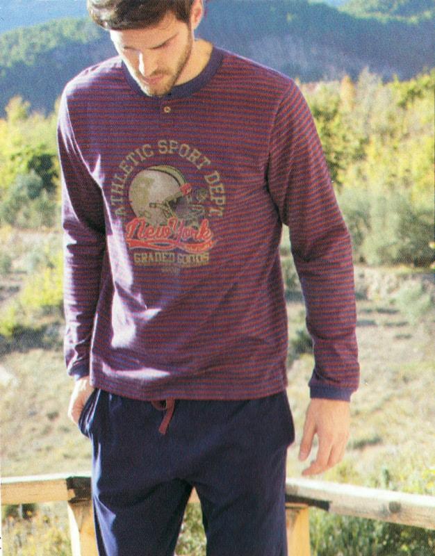Pijama Admas Sport Granate