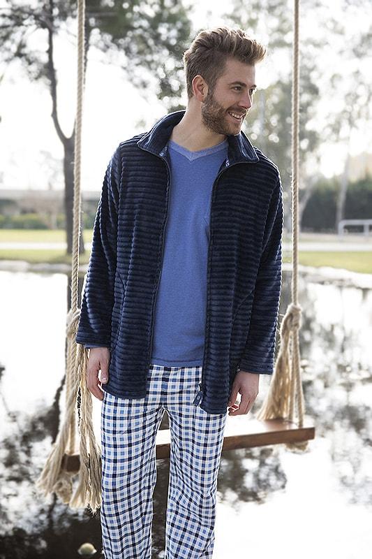 Pijama Barandi Adam punto de algodón