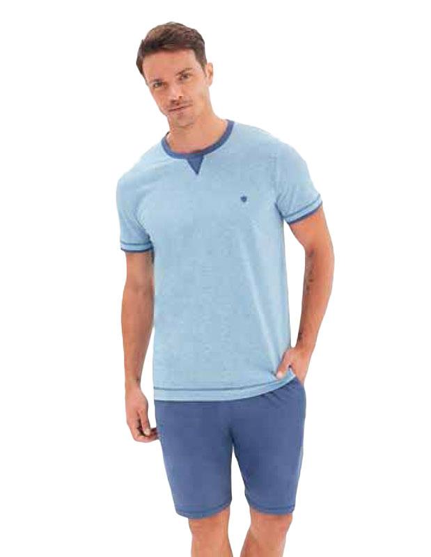 Pijama Blackspade en Algodón mod. Azul Jeans