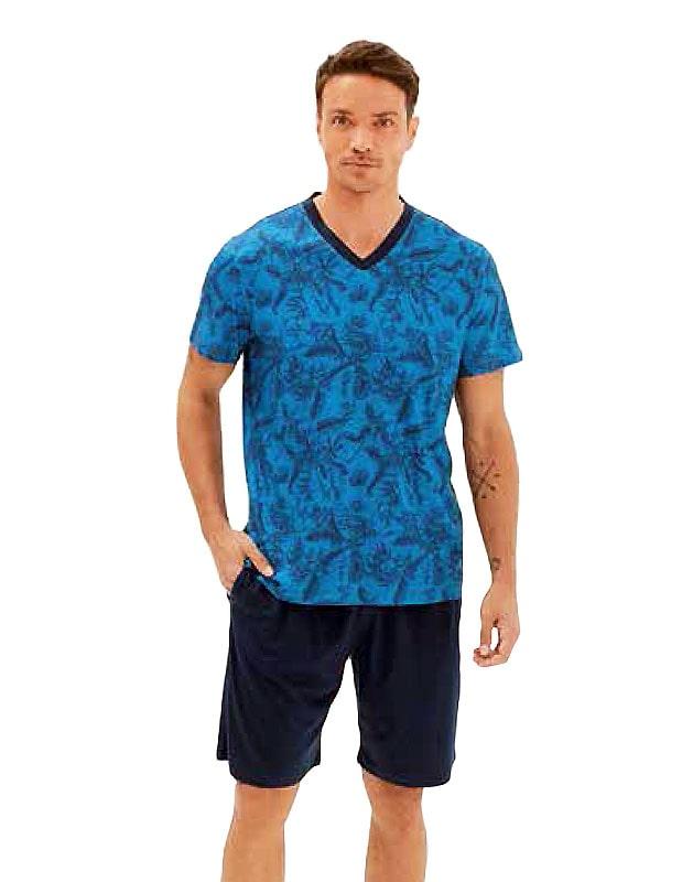 Pijama Blackspade en Algodón mod. Leaves
