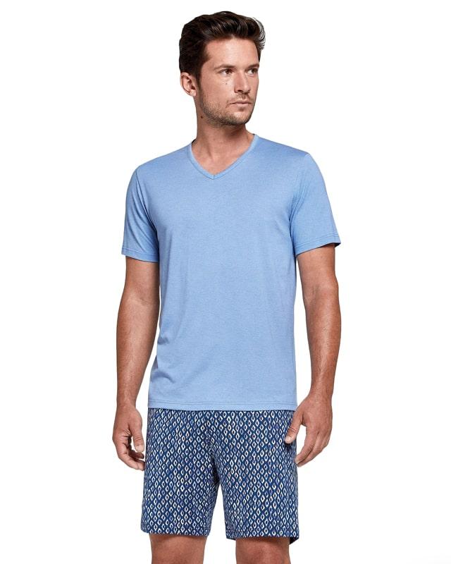 Pijama Impetus de Modal y Algodón estampado Gracebay