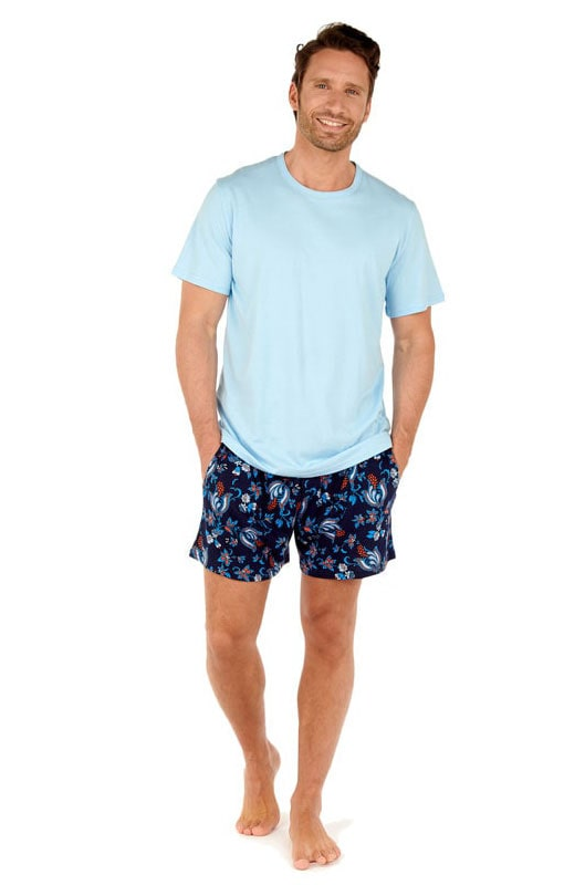 Pijama de manga corta Hom mod. Morgiou en algodón