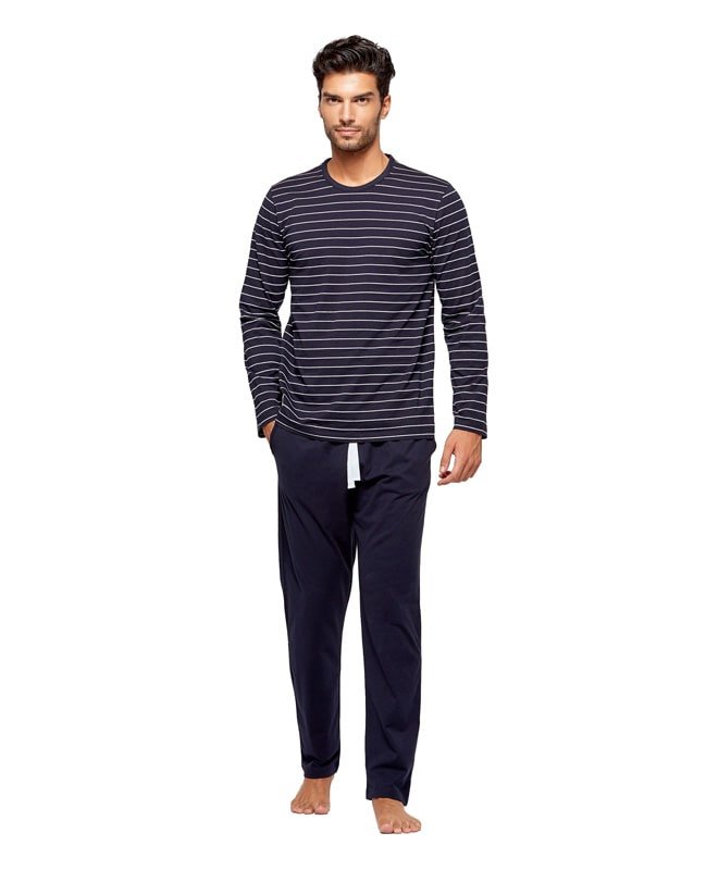 Pijama Impetus Organic Cotton azul marino