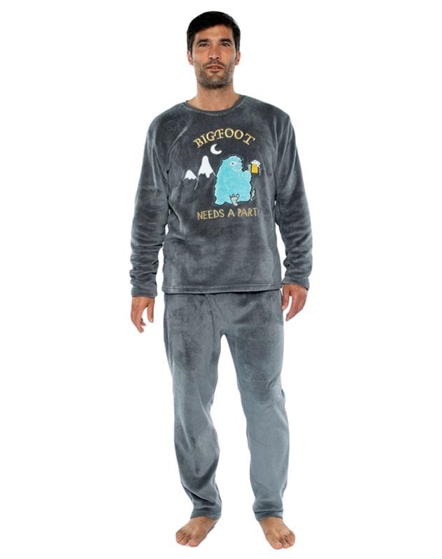 Pijama Muydemi Térmico Polar Bigfoot con puños