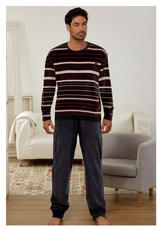 Pijama Massana Terciopelo con Puños