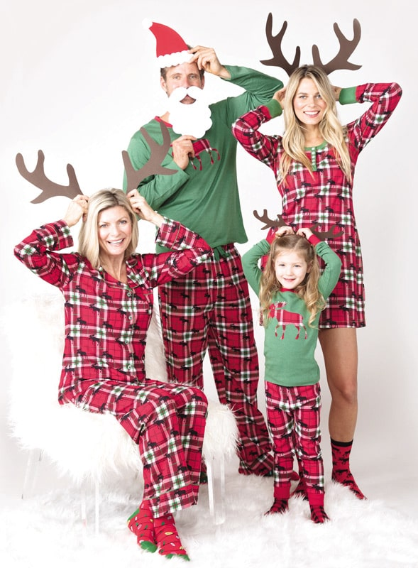 Pijama Little Blue House Holiday Moose