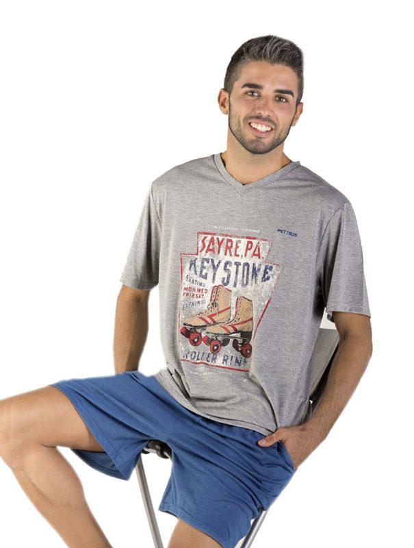 Pijama Pettrus Man Roller Rink