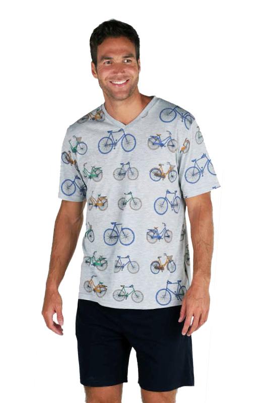 Pijama Hombre Pettrus Man con bicicletas