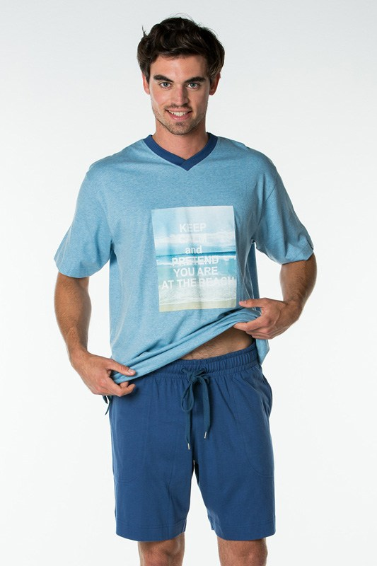 Pijama Punto Blanco Seashore