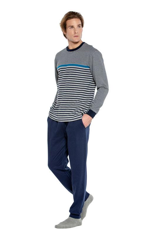 Pijama Punto Blanco Gravity Afelpado con puños