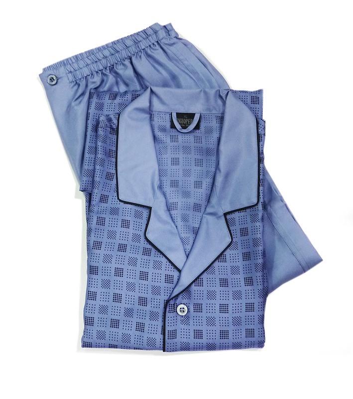 Pijama de Seda La Perla en Azul Claro