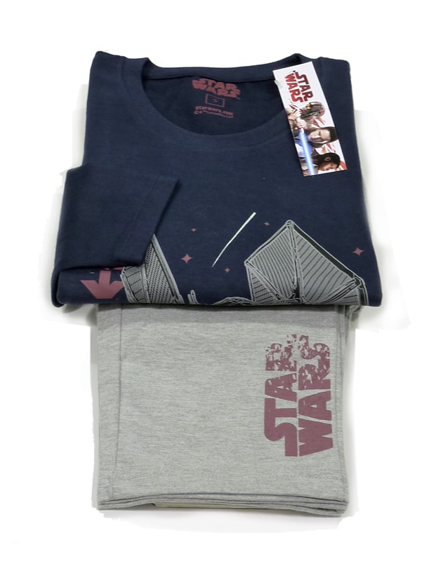 Pijama Star Wars Tie Fighter en azul