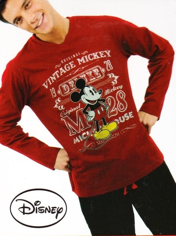 Pijama Mickey Mouse, rojo