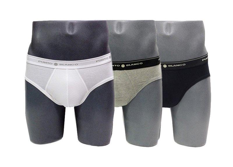 3 Pack Punto Blanco Slips Basix