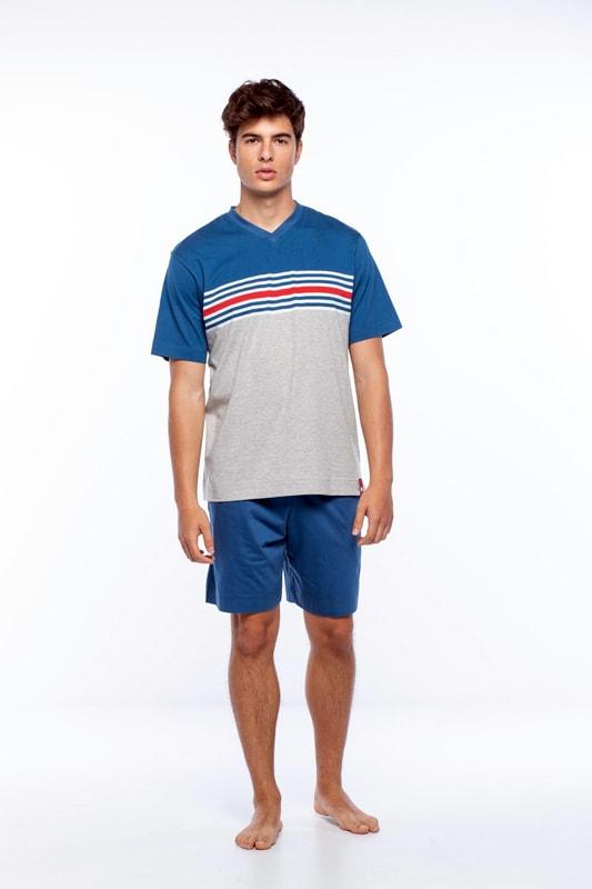 Pijama Punto Blanco hombre Perspective