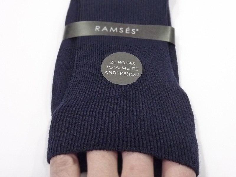 Calcetín Ramsés 24 horas anti-presión azul