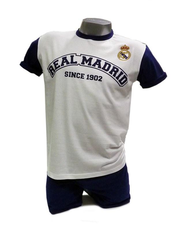 81532f4af3c Pijama Hombre Real Madrid C.F. en algodón 100% - Varela Intimo