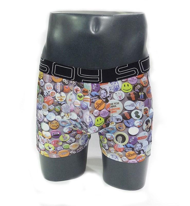 Calzoncillos Boxer Soy Underwear con Chapas - Varela Intimo