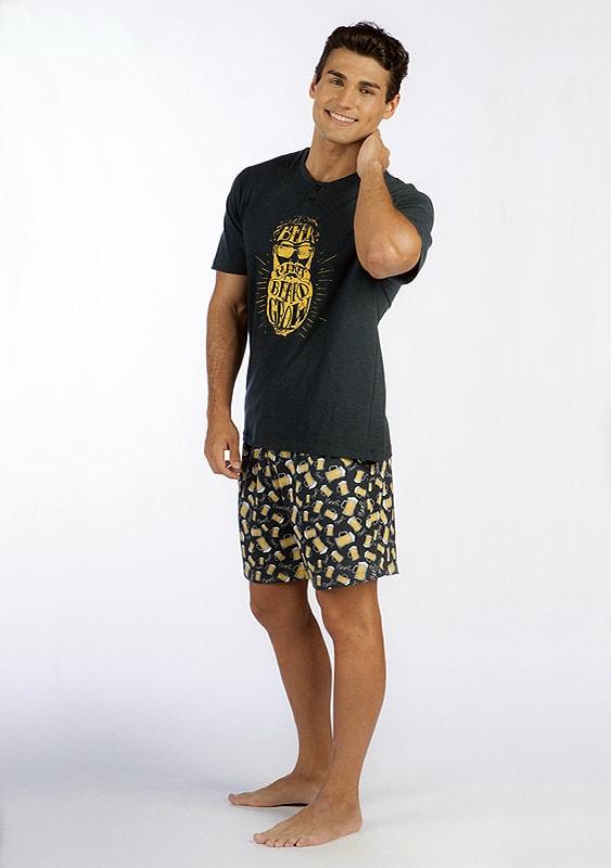 Pijama Soy Underwear Estampado Cervezas