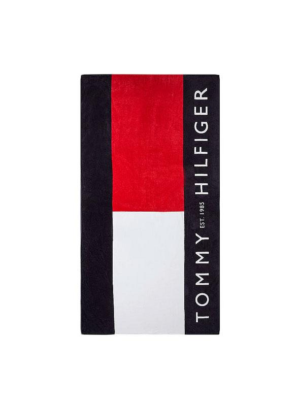 Toalla de Playa con logo de Tommy Hilfiger
