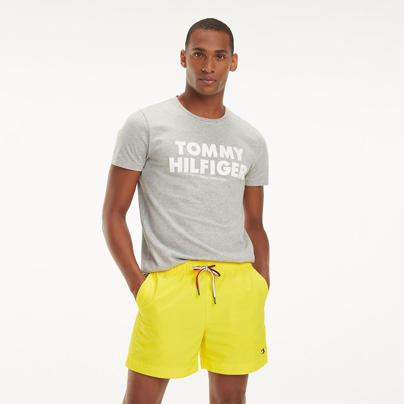 Bañador Hombre Tommy Hilfiger Empire Yellow