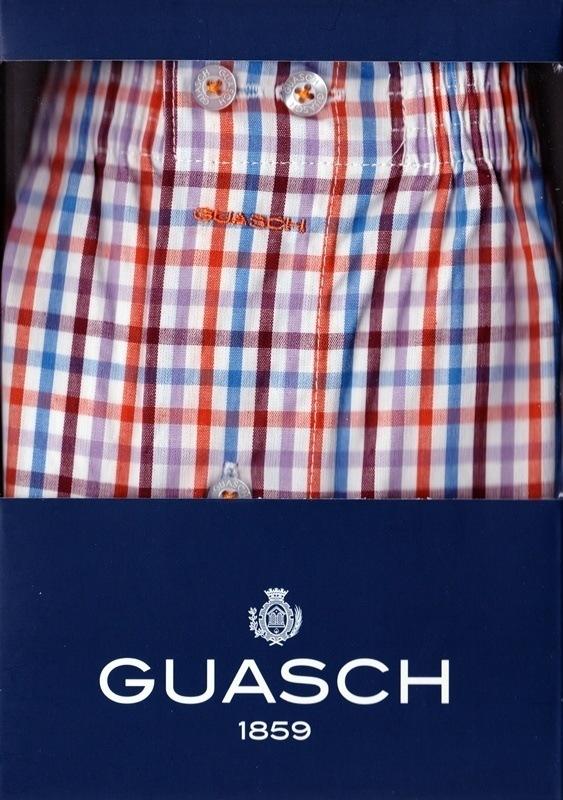 Boxer de Tela Vichy Multicolor, Guasch