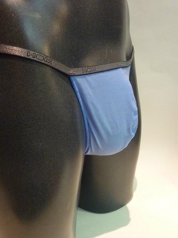 Tanga/String de HOM, Azul