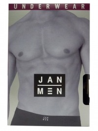 Slip Jan Men Fresh en negro