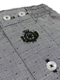 T.E. - Boxer Guasch de tela en gris (hasta 4XL)