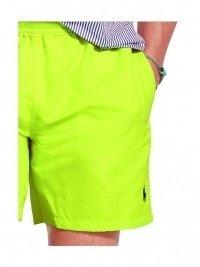 Bañador Polo Hawaiian Swin Safety Yellow