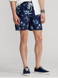Bañador Polo Ralph Lauren Estampado con flores en marino
