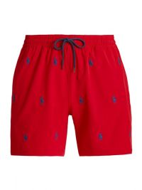 Bañador Polo Ralph Lauren Classic Red Traveler Short
