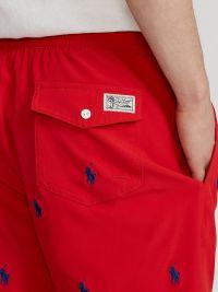 Bañador Polo Ralph Lauren Classic Red Traveler Short