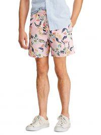 Bañador Polo Ralph Lauren Floral Pink Traveler Short