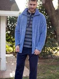 Parka Polar Barandi Azul Jeans Vigoré