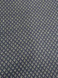 Bata de verano Soy Underwear estampado geómetrico en azul