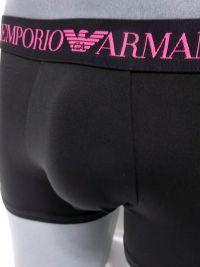 Boxer Emporio Armani de microfibra en negro