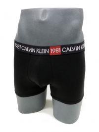 Boxer Calvin Klein algodón 1981 BOLD Negro