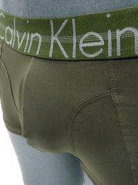 Boxer Calvin Klein Focused Fit en verde oliva