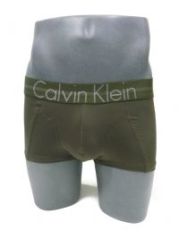 Boxer Calvin Klein Focused Fit en verde oliva