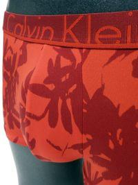 Boxer hombre Calvin Klein microfibra rojo floral